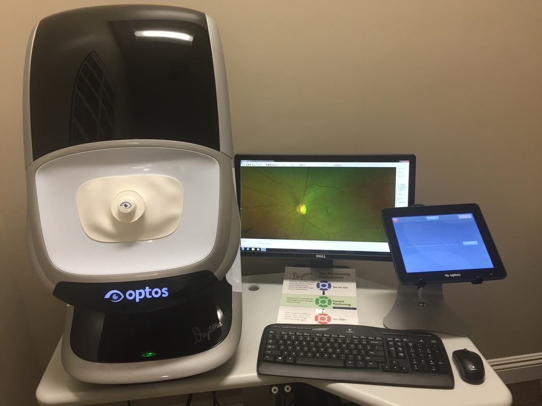 Digital Retinal Photos, Eye Photos, Optos, Optomap